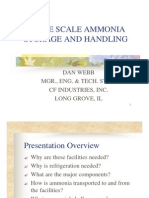 Large Scale Ammonia Storage and Handling[1]