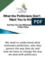 LFN-Nature of Politicians