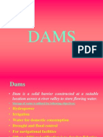 Dams and types of dams