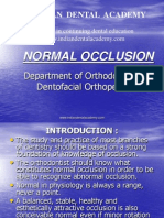 Normal Occlusion 1 / orthodontic courses by Indian dental academy