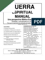 GUERRA ESPIRITUAL - Spiritual Warfare Handbook (Spanish)