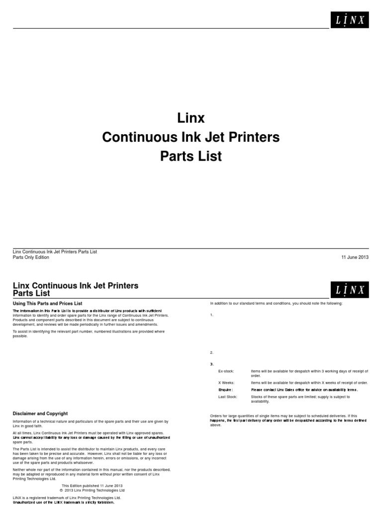6800 parts list electrical connector power supply rh scribd com  linx 4900 service manual pdf