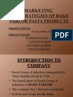 Marketing Bake Parlor