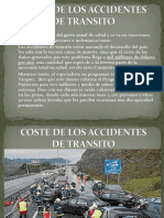Coste de Los Accidentes de Transito