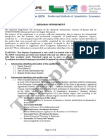Template Diploma Supplement