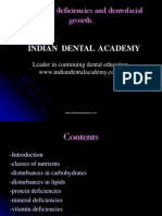 Nutritional Deficiencies and Dentofacial Growth / orthodontic courses by Indian dental academy