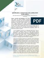 QRxPharma Aesica Collaboration ASX Release 22 July 2013 Final (1)