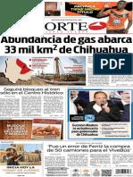 Periódico Norte de Ciudad Juárez edición impresa del 16 mayo de 2014