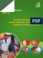 Documento_Tecnico de De Sesiones Demostrativas