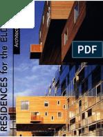 Architectural Design - Residences for the Elderly