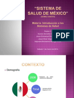Sistema de Salud de México Expo