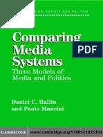 Comparing Media Systems Daniel Hallin