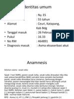 Case Presentation Dm
