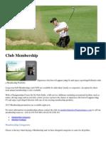 Club Membership - Laguna Lang Co