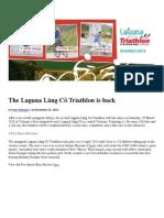 The Laguna Lăng Cô Triathlon is Back