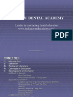 Occlusion 26 / orthodontic courses by Indian dental academy