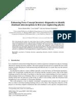 Enhancing Force Concept Inventory Diagnostics