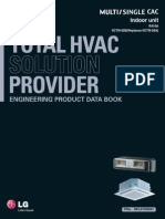 LG TOTAL HVAC SOLUTION PROVIDER - ENGINEERING PRODUCT DATA BOOK