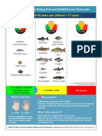Clear Lake fish advisory
