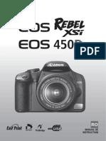 EOS 450D Instruction Manual RO