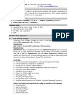 Rajiv Resume