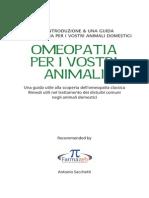 Omeopatia Per Animali
