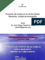 Proyecto Costos Clinica Unidad Tomografia