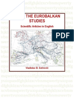 "Sotirovic 2014 Book ""From the EuroBalkan Studies"