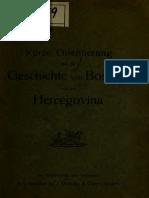 GESCHICHTE von Bosnien und der Hercegovina