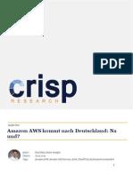 Amazon AWS kommt nach Deutschland