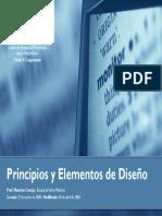 Principios y Elementos de Diseno