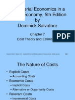 Managerial Economics in a Global EconomyANALISIS