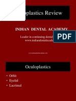 Oculoplastics Review / orthodontic courses by Indian dental academy