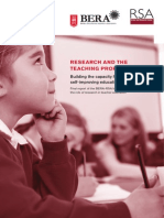 Research and the Teaching Profession