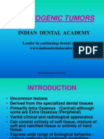 Odontogenic Tumors / orthodontic courses by Indian dental academy