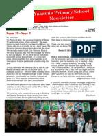 Newsletter Vol 7 16.5.14