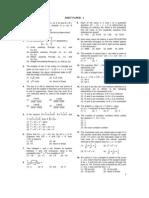 Quant Paper - 1 for JMET for Practice