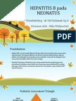 Hepatitis B Neonatus