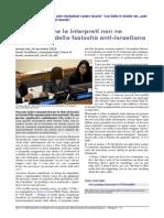 ONU: Quando le interpreti non ne possono più della faziosità anti-israeliana