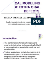 Optical Modeling of Extra Oral Defects / orthodontic courses by Indian dental academy