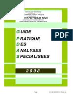Guide Des Analyses Specialisees Du Labo D_hormono