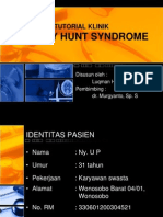 Tutorial Klinis Ramsay Hunt Syndrome