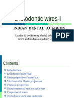 Orthodontic Wires 1 / orthodontic courses by Indian dental academy