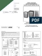 Access Control Intercom Keypad Vandal Resistant Wiring Diagram