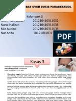 Meninggal, Akibat Overdosis Paracetamol