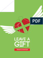 'Leave a Gift' organ donation