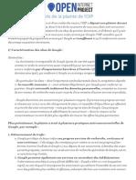 """La plainte déposée auprès de la Commission européenne par l'""""Open internet project"""""""