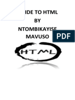 201307766 HTML Assignment