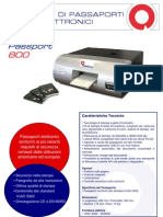 Matica E-Passport 800