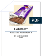 Cadbury marketing strategy